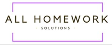 All Homework Solutions