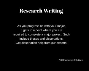 Research writing is crucial when collected accurate information on various research projects. With our research writing services, you can order all sorts of research services such as research papers, capstone projects, literature review, among others.
